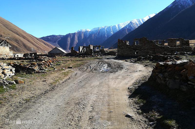 Opuszczona wioska Ketrisi